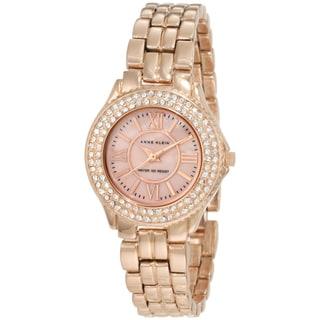 Anne Klein Women's 10-9536RMRG Rosegold Tone Stainless Steel Watch