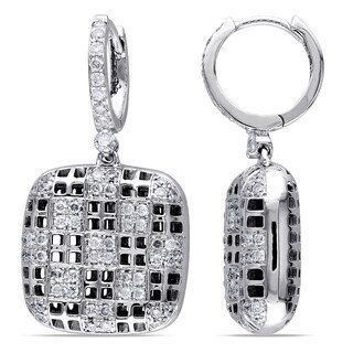 Miadora Signature Collection 14k White Gold 1ct TDW Diamond Earrings|https://ak1.ostkcdn.com/images/products/7535694/P14971436.jpg?_ostk_perf_=percv&impolicy=medium