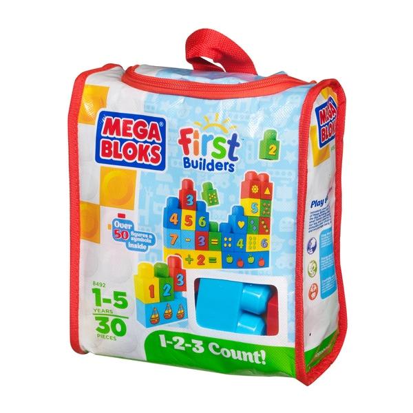 Mega Bloks Build 'n Learn 1-2-3 Count Playset