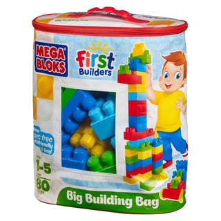 Mega Bloks 80-piece Classic Big Building Bag