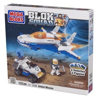 Mega Bloks Blok Squad Deluxe Space Orbital Mission