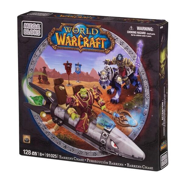 Mega Bloks World of Warcraft Barren Lands Chase Playset
