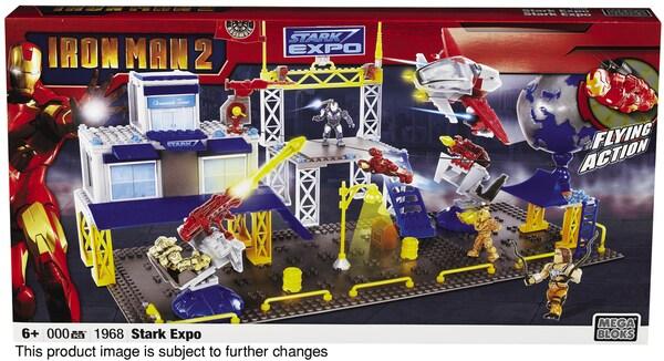 Mega Bloks Iron Man 2 Expo Playset