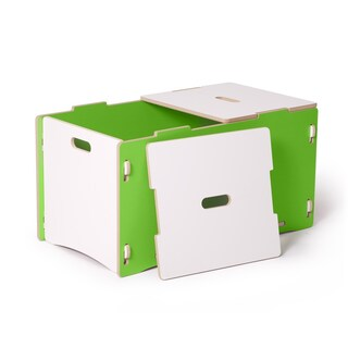 Sprout Kid's Wood Toy Box