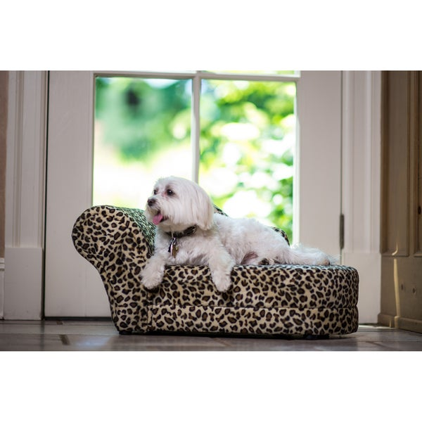 Enchanted Home Pet Leopard Chaise