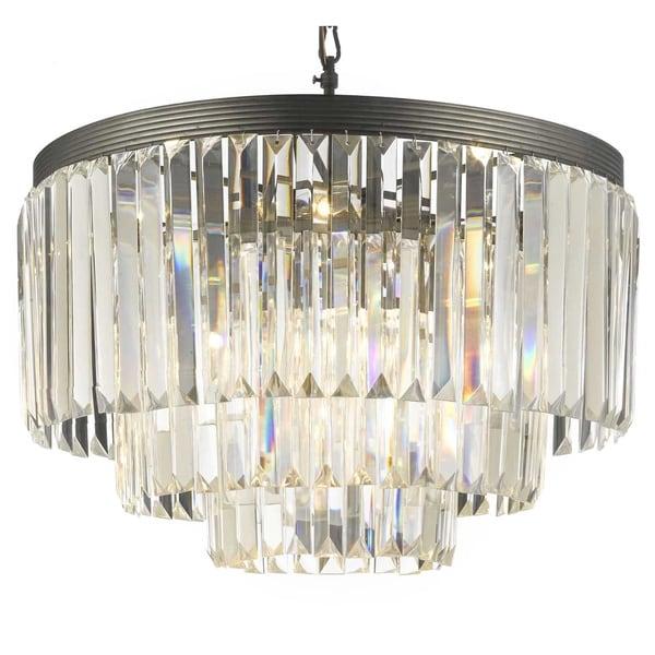 Shop gallery palladium crystal glass fringe 3 tier chandelier free gallery palladium crystal glass fringe 3 tier chandelier aloadofball Choice Image