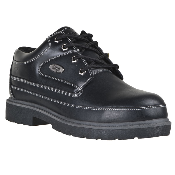 Lugz Men's 'Mission SR' Black Durabrush Leather Boots
