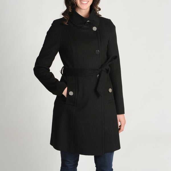 Tahari Women's 'Izzi' Wool-blend Belted Coat