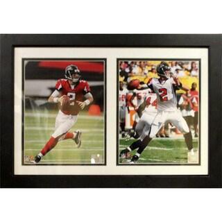 Atlanta Falcons Matt Ryan Custom Framed Double Print (12 x 18)