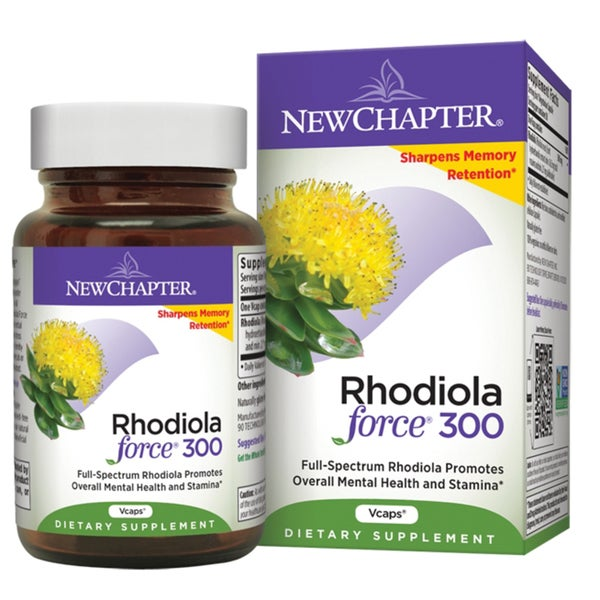 New Chapter Rhodiola Force 300mg Vcaps (30 count)