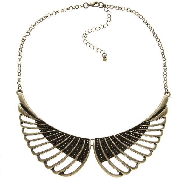 LucyNatalie Antique Double Wing Necklace