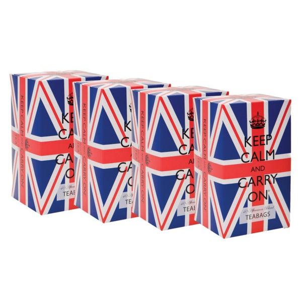 Union Jack Tea Tins (Set of 4)