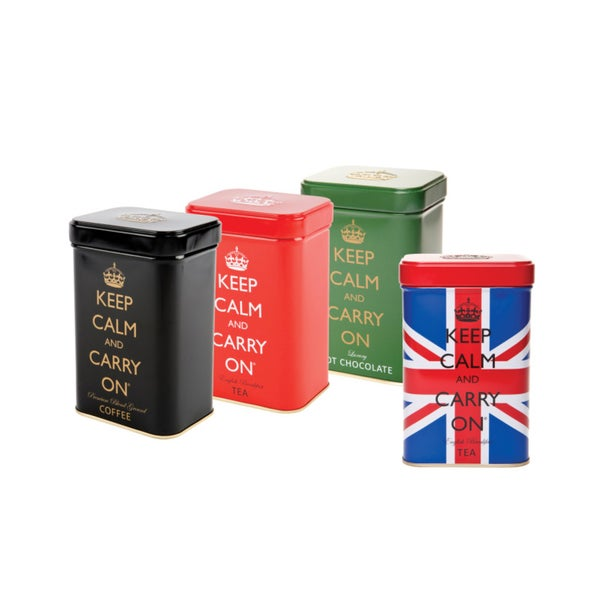 Keep Calm & Carry On Tins (Set of 4)
