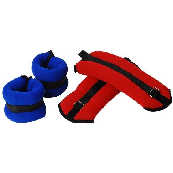 Valor Fitness EH-36 Ankle Weights 2-3 lb Set (K)