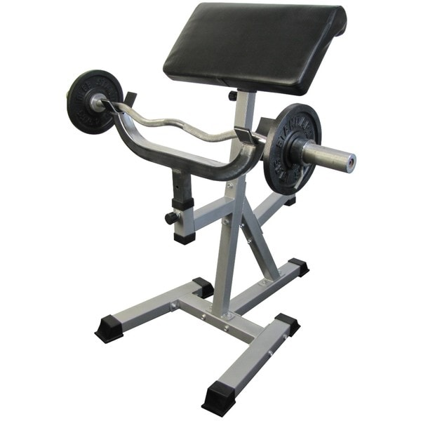 Valor Fitness Standing Arm Curl with Pivot