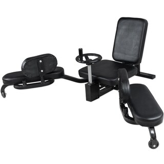 Valor Fitness Silver Steel Leg Stretch Machine