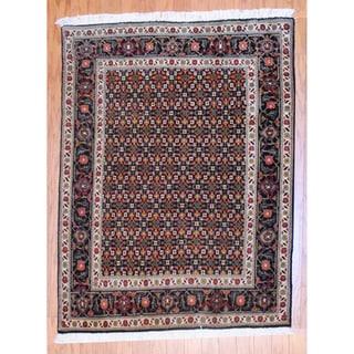 Herat Oriental Persian Hand-knotted Tabriz Wool Rug (3' x 5')