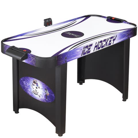 Hathaway Hat Trick 4-foot Air Hockey Table - Blue