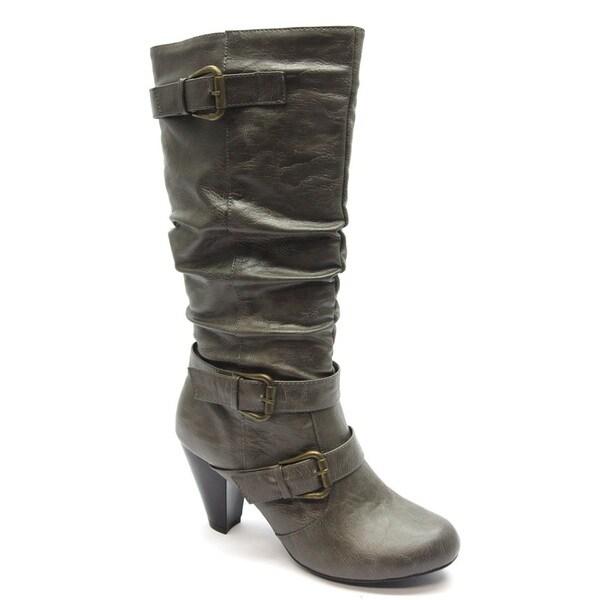 Blue Women's 'Davida' Grey Mid-calf Boots