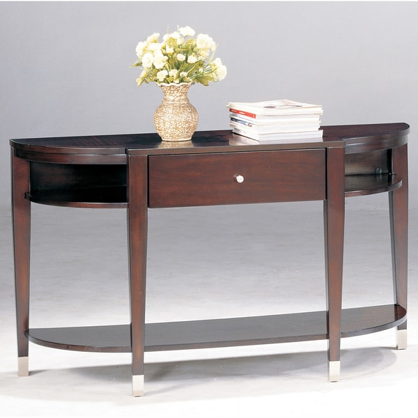 Helix Wood Sofa Table