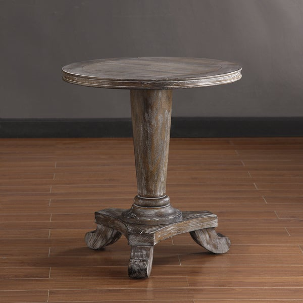 Renate Round End Table