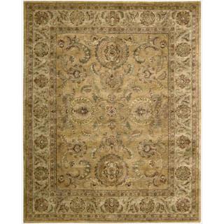 Nourison Hand-tufted Jaipur Golden Wool Rug