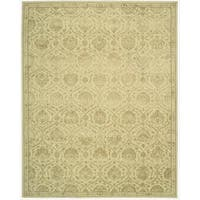 Nourison Hand-tufted Floral Regal Gravel Wool Rug