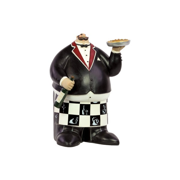 Urban Trends Collection 13-Inch Decorative Resin Chef