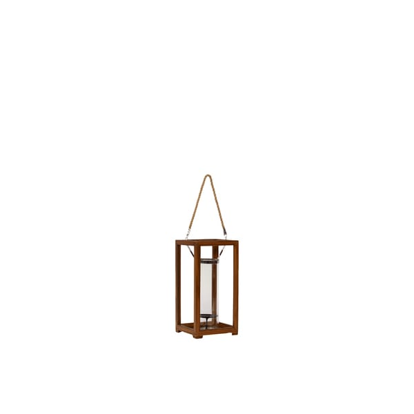 Urban Trends Collection Small Metal/Wood Lantern