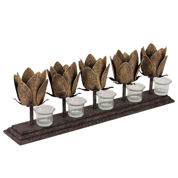 Urban Trends Collection 20-inch Metal Candle Holder