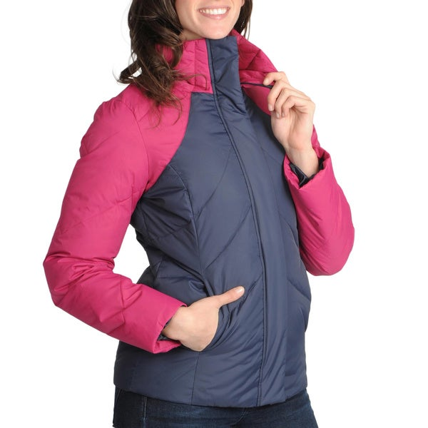 Tommy Hilfiger Women's Down-Filled Color-Block Puffer Jacket