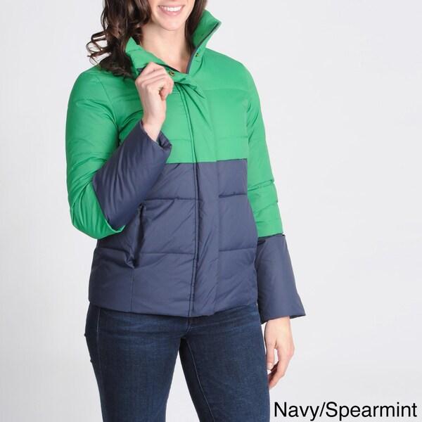 Tommy Hilfiger Women's Color-block Puffer Jacket