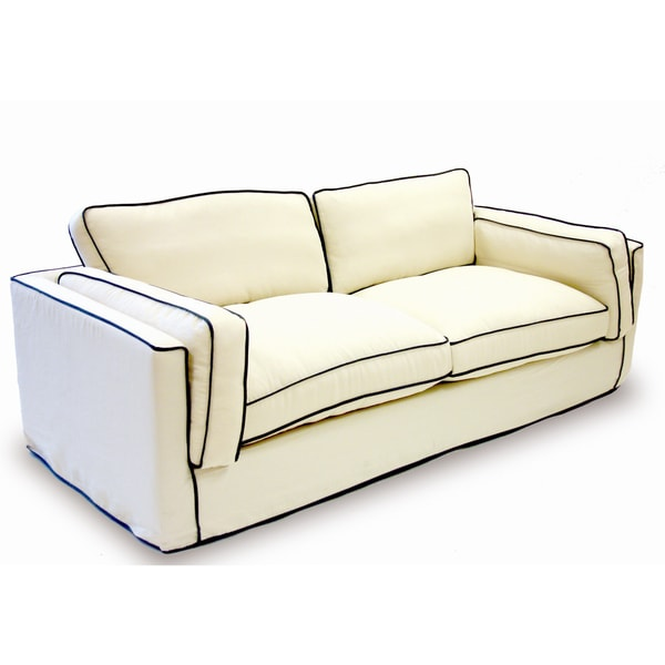 Sofa in Cream SlipCover