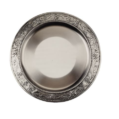 Old Dutch Embossed Victoria Charger Plate (Set of 6)