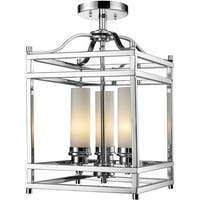 Altadore 3-light Chrome Chandelier - Polished Nickel