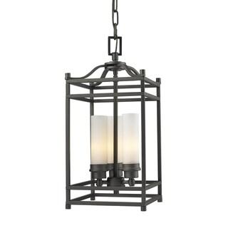 Altadore Indoor Three-Light Bronze Chandelier