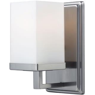 Tidal 1-light Brushed Nickel Sconce