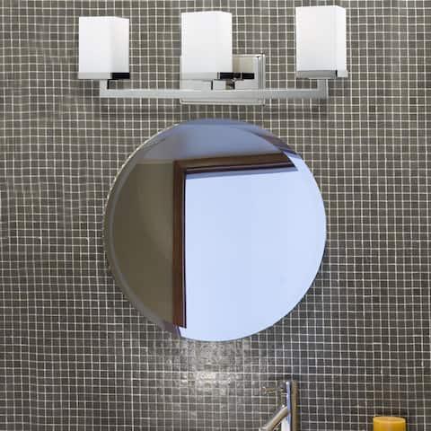 Tidal 3-light Chrome Wall Sconce