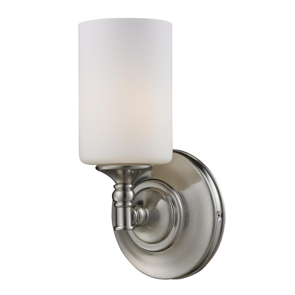 Cannondale 1-light Brushed Nickel Wall Sconce
