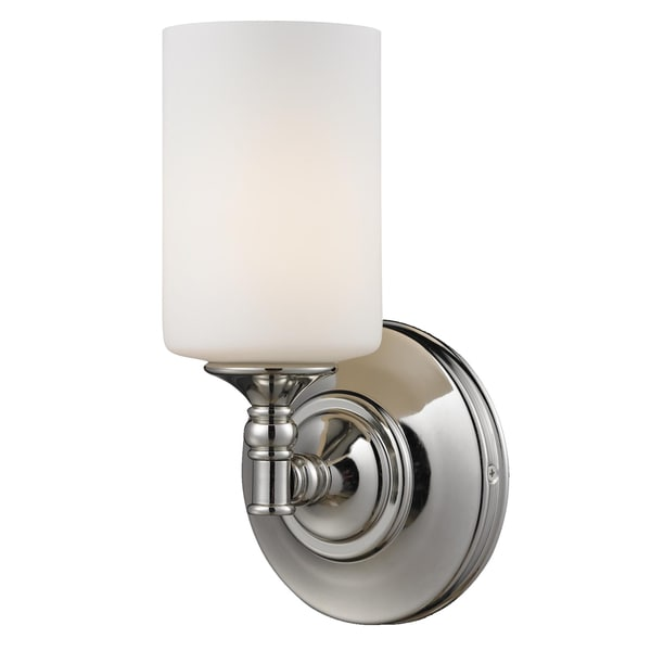 Cannondale 1-light Chrome Wall Sconce - Free Shipping Today - Overstock.com - 14973276