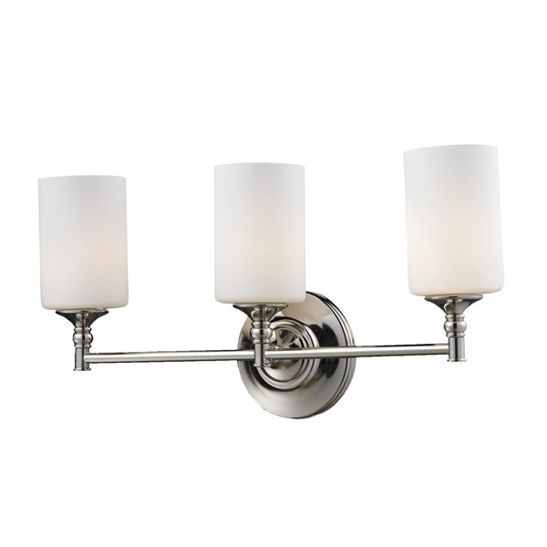 Shop Cannondale 3 Light Chrome Wall Vanity Free Shipping Today 7537728
