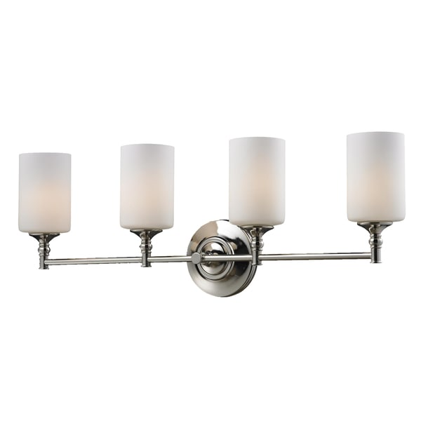 Cannondale 4-light Chrome Wall Vanity