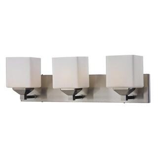 Quube Three Light Wall Vanity