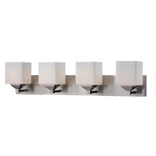 Quube Four Light Wall Vanity