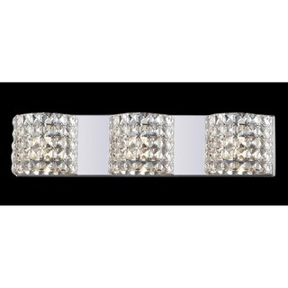 Panache Crystal-embellished 3-light Light Fixture