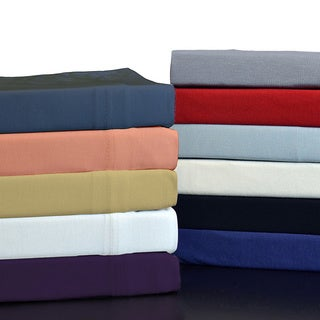 Brielle Home 100-percent Modal from Beech Jersey Knitted Sheet Set (2 options available)