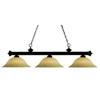 Riviera Bronze 3-light Fixture