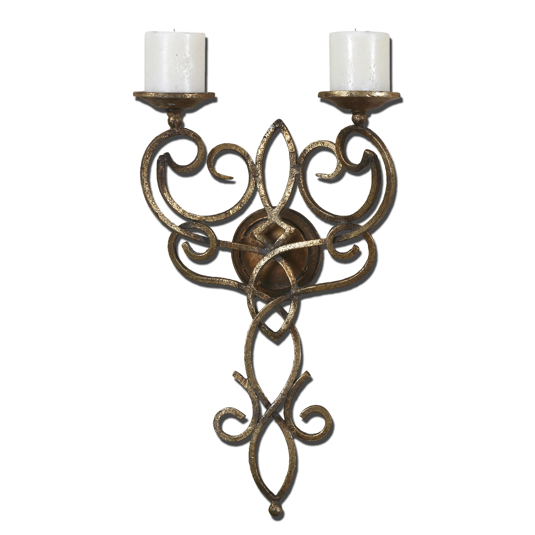 Zemel Hand forged Metal Candle Holder