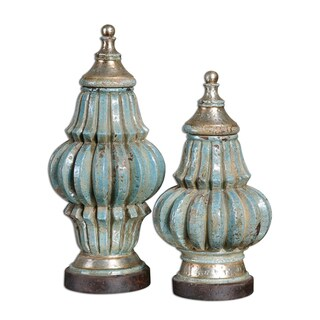 Uttermost Fatima Decorative Urns (Set of 2)