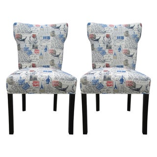 Bella Amore Upholstered Dining Chairs (Set of 2)